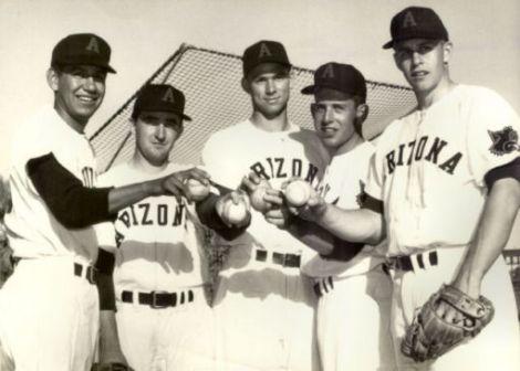 Birdie Morago, Bob Encinas, Dave Baldwin, Norm Popkin, and Jim Ward.